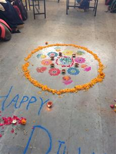 Diwali Celebrations at Nasr School